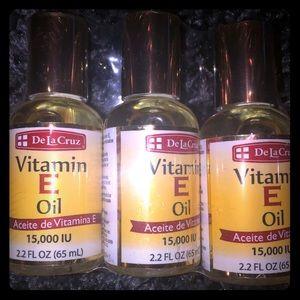 De La Cruz Vitamin E Oil- 3 Pack